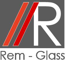 REM GLASS Logo